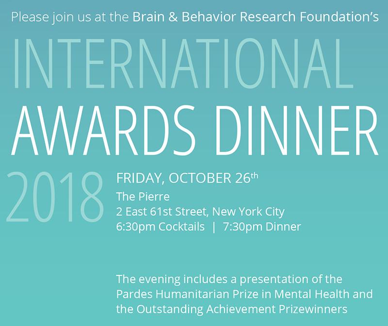International Awards Dinner
