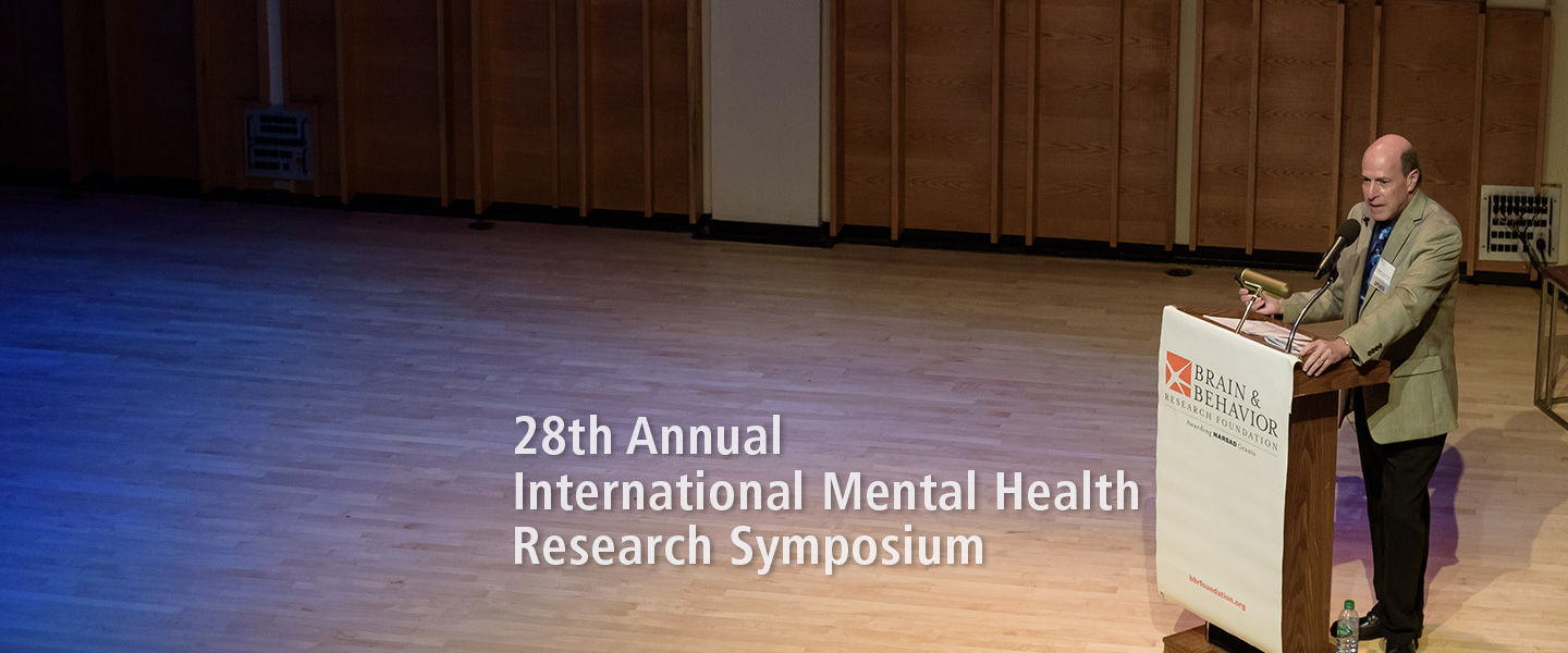 2016 International Mental Health Research Symposium
