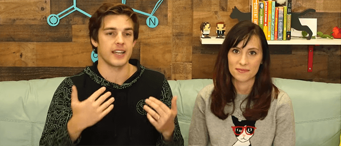 MatPat and Stephanie Patrick of the Game Theorists