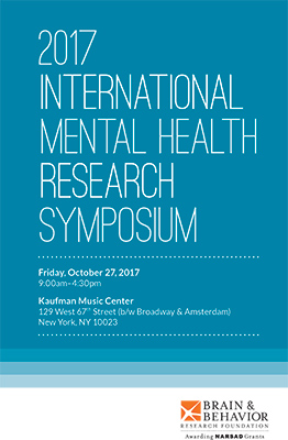 2017 International Mental Health Research Symposium