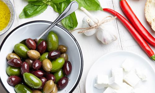 Depression Symptoms Declined with Mediterranean-style Diet