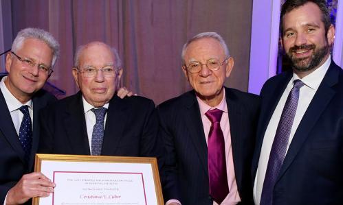 2017 International Awards Dinner Prizewinners