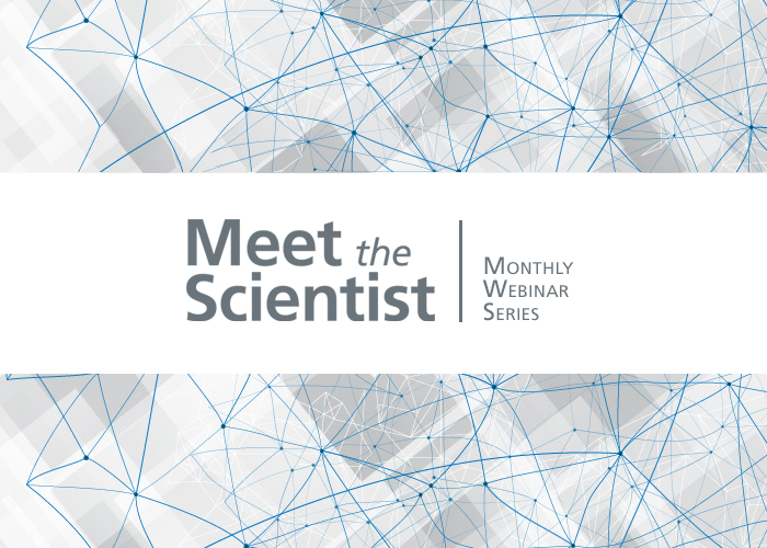 Meet the Scientist Webinars